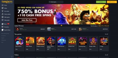 Tangiers Casino Complete Review
